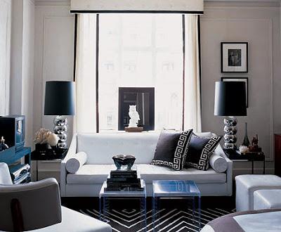 Mod White Living Room Copycatchic