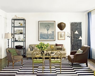 The Home Of Nate Berkus. Courtesy Of Domino Mag. Jonathan Adleru0027s  Chippendale Chair ...