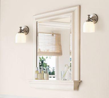 Pottery Barn S Metropolitan Mirror With Shelf