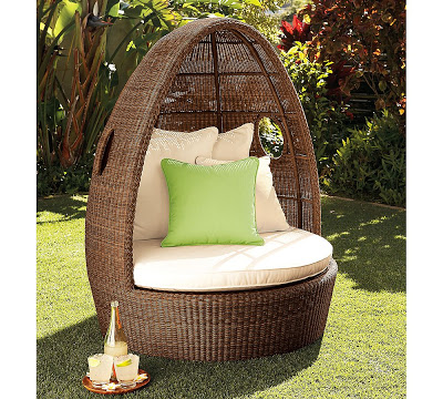 Ordinaire Pottery Barnu0027s Palmetto All Weather Wicker Egg Chair U003d $1,039 (special  Pricing)
