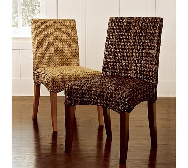 Pottery Barn Seagrass Dining Chair Copycatchic