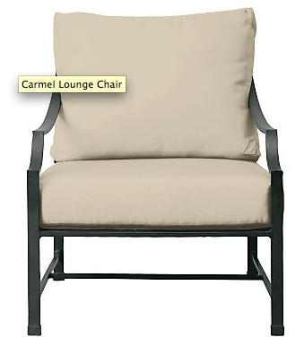 Beau Restoration Hardwareu0027s Carmel Lounge Chair $369 + Linen Cushions $189 U003d  Total For Two $1,116.00