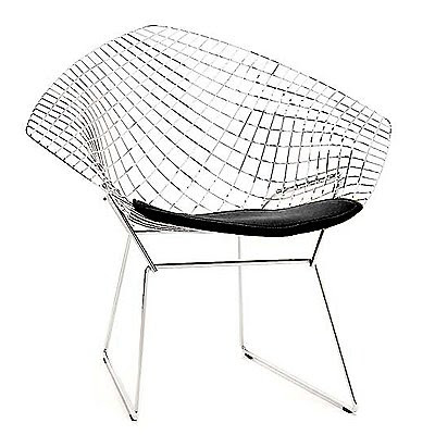 design within reachu0027s bertoia diamond chair u003d