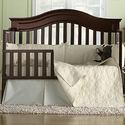 Pottery Barn Kids Organic Giant Dot Nursery Bedding