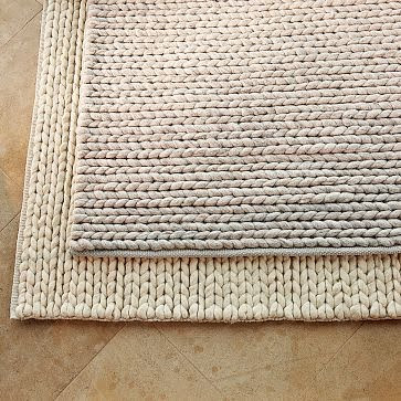 West Elm Chunky Plaited Wool Rug Copycatchic