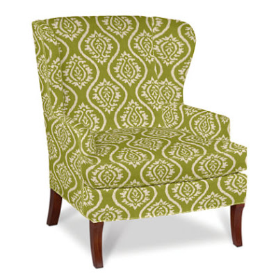 | Company C's Ikat Wing Chair |