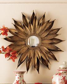 Horchow Sunflower Mirror Copycatchic