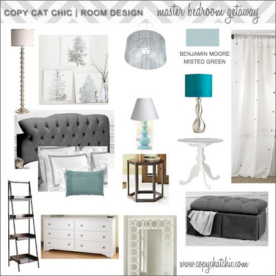 Hollywood Glam Master Bedroom Copycatchic
