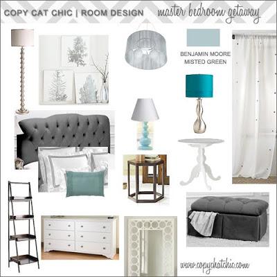 Hollywood Glam Master Bedroom Copycatchic