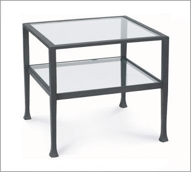 Targetu0027s Distressed Metal Sofa Table U003d $129.99