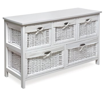 White Bookcase With Baskets Amazing Bookcases