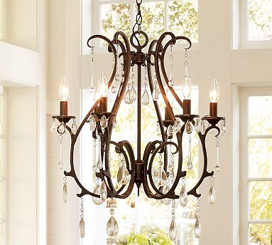 Pottery barn celeste chandelier copycatchic mozeypictures Image collections