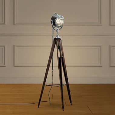 Restoration Hardware Spotlight Tripod Floor Lamp