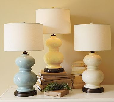 Williams Sonoma Home Porcelain Pearl Lamp Copycatchic