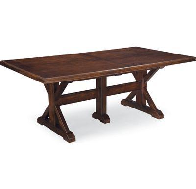 Thomasville Wanderlust Trestle Table Copycatchic
