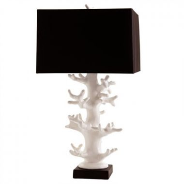White Coral Lamps
