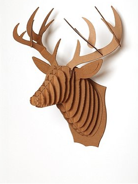 Urban Outfitters Giant Cardboard Taxidermy 52