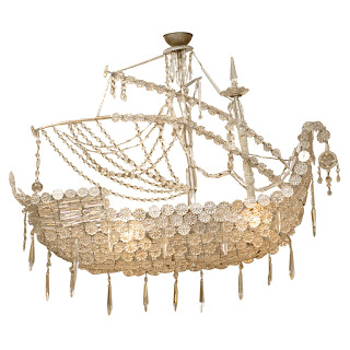 Crystal Ship Chandelier Copy Cat Chic