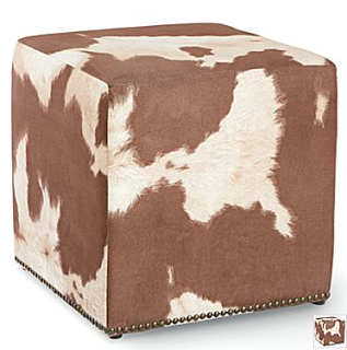 Room And Board Lind Cowhide Ottomans Copycatchic