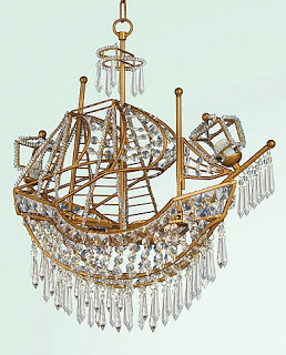 Crystal ship chandelier copycatchic crystal ship chandelier mozeypictures Images