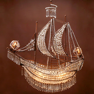 Crystal Ship Chandelier Copycatchic