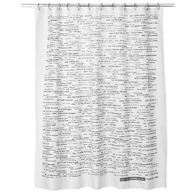 Targetu0027s Intuitive Learning Shower Curtain U003d $18