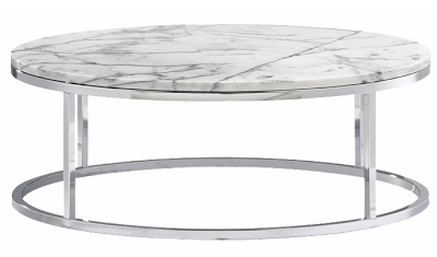 Merveilleux CB2u0027s Smart Round Marble Coffee Table U003d $299