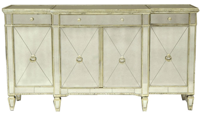 Horchow Mirrored Buffet Console Copycatchic