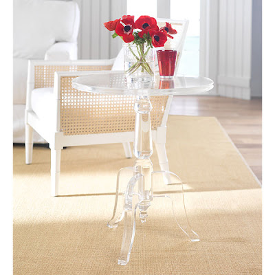 Horchow Acrylic Side Table. Hereu0027s Cool Find From Reader Anastasia! Perfect  For A Modern Glam Living Room Or Bedroom. Part 76