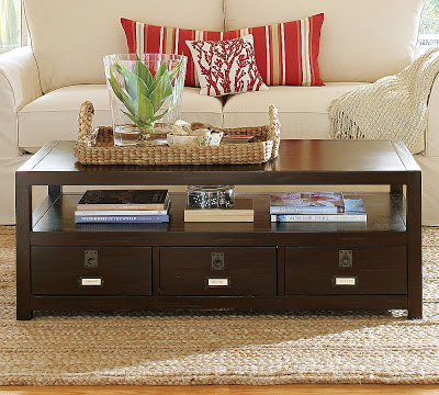 Pottery Barn Rhys Coffee Table Copycatchic - Pottery barn coffee table with drawers