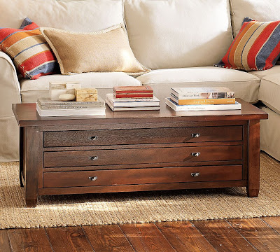 Pottery Barn Map Coffee Table Copycatchic - Pottery barn coffee table books
