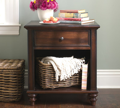 Pottery Barn Montego Bedside Table Copy Cat Chic