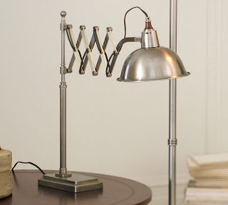 Great Pottery Barn us Bristol Accordion Table Lamp ud on sale
