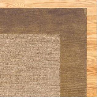 Cost Plus World Marketu0027s Wool Tufted Rug (Brown 5u0027x8u2032) - $179.99