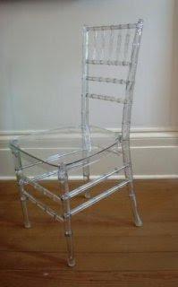 Lucite Chiavari Ballroom Chair Copy Cat Chic