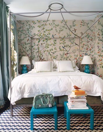 Anthropologie Italian Campaign Canopy Bed Copycatchic