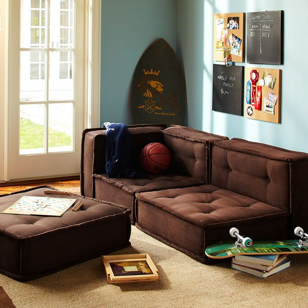 Pottery Barn Teen Cushy Lounge Collection Copycatchic - Pottery barn teenagers