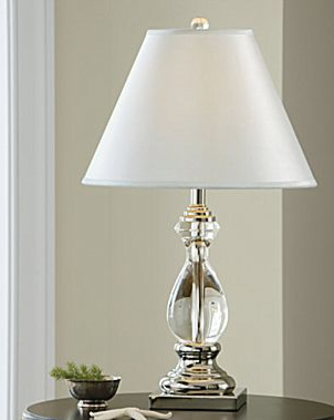 Pottery Barn Marston Crystal Lamp Copycatchic