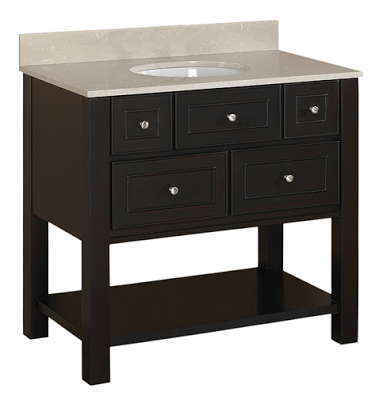 Pottery Barn Classic Sink Console Copycatchic