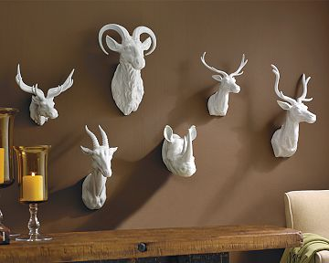 Williams Sonoma Home S Large Deer Head 275