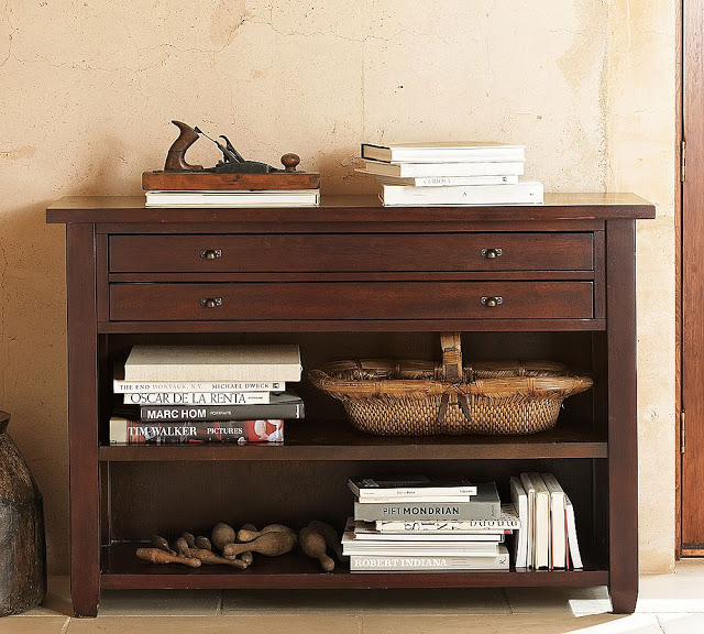Marvelous Pottery Barn Map Console Table