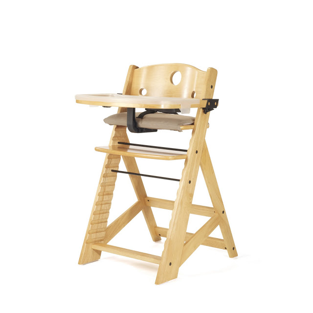 Keekaroou0027s Height Right High Chair With Infant Insert + Tray With Tray  Cover U003d $189.95