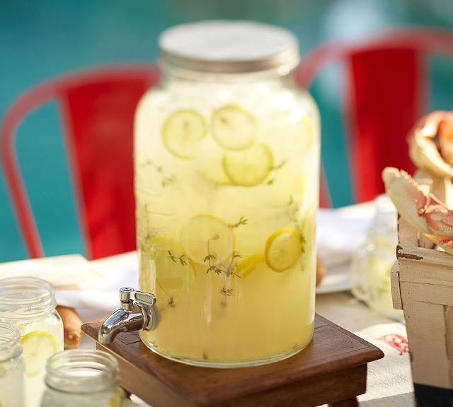 Pottery Barn Mason Jar Drink Dispenser Copycatchic