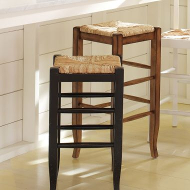 Pottery Barn Napoleon Backless Barstool