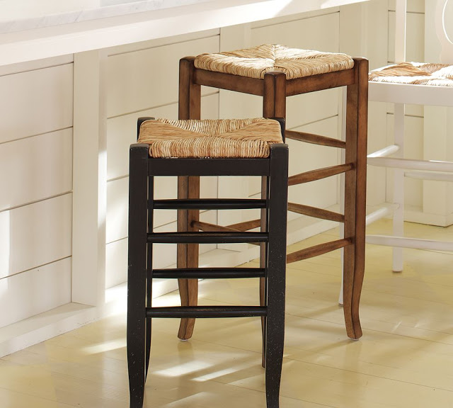 Magnificent Pottery Barn Napoleon Backless Barstool Copycatchic Gamerscity Chair Design For Home Gamerscityorg