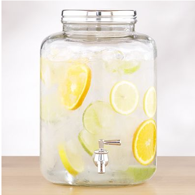Pottery Barn Mason Jar Drink Dispenser Copycatchic