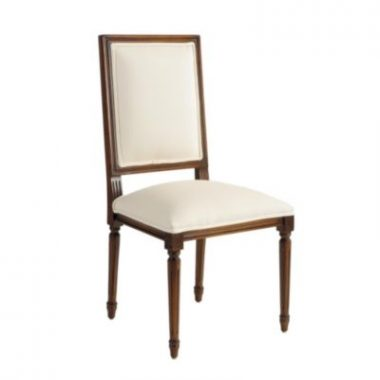 Ballard Design Louis XVI Square Back Chair