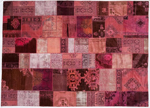 Over Dyed Patchwork Rugs Copycatchic