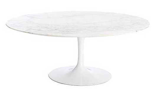 DWRu0027s Saarinen Low Oval Coffee Table U003d $3,230 + $210 Shipping U003d $3,440