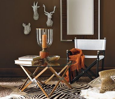 Williams Sonoma Home's Director's Coffee Table